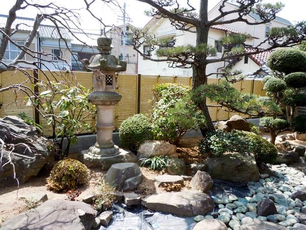 ブロック塀から植栽の映えるエバーバンブーみす垣に – 兵庫県尼崎市 I様邸