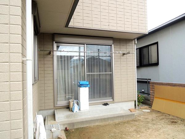 メンテナンスフリーな憩いの庭 – 兵庫県西宮市 B様邸の施工前