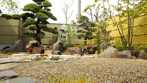 眺める庭 – 大阪府堺市 F様邸