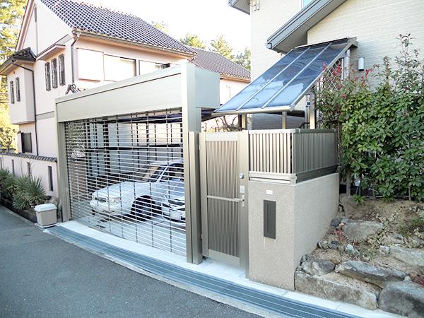 防犯対策で安心快適な門周り – 大阪府吹田市 K様邸
