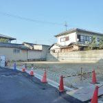 施工前:今まで住んでいたお宅を取り壊し、更地にしました。