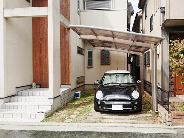 アイストップを利用したお気に入りの庭 – 大阪府高槻市K様邸の施工前