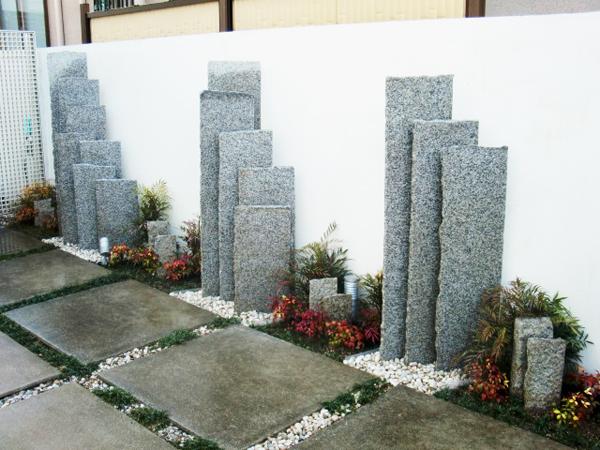 限られたスペースでの庭園造り-兵庫県伊丹市H様邸