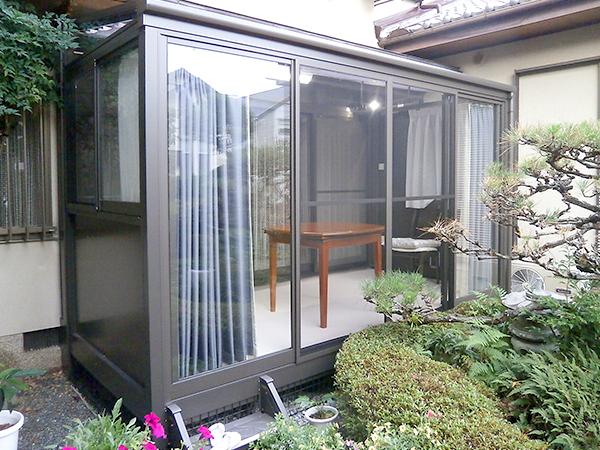 和庭を眺めるとっておきの空間 – 大阪府豊中市 F様邸