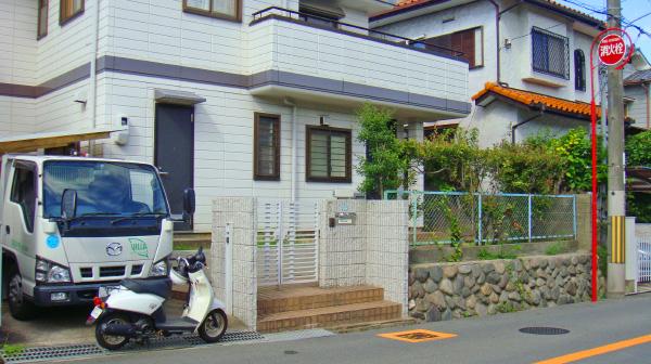 ガレージスペースが使いやすいリフォーム – 大阪府豊中市 F様邸の施工前