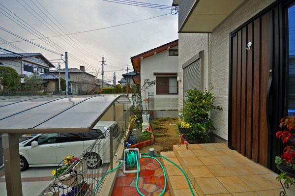 ナチュラルテイストなお庭空間に – 大阪府豊中市 H様邸の施工前