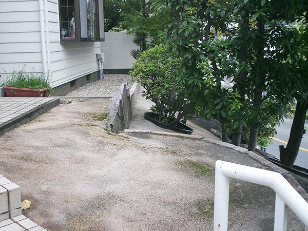ウッドデッキで安全な空間作り~豊中市 I様邸の施工前
