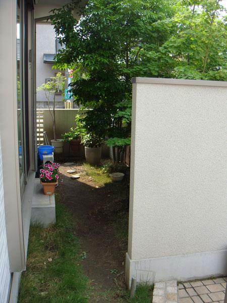 光と風が吹き抜ける庭空間へ – 大阪府豊中市 I様邸の施工前
