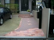 2台駐車できる明るいアプローチにリフォーム – 大阪府豊中市 K様邸の詳細はこちら