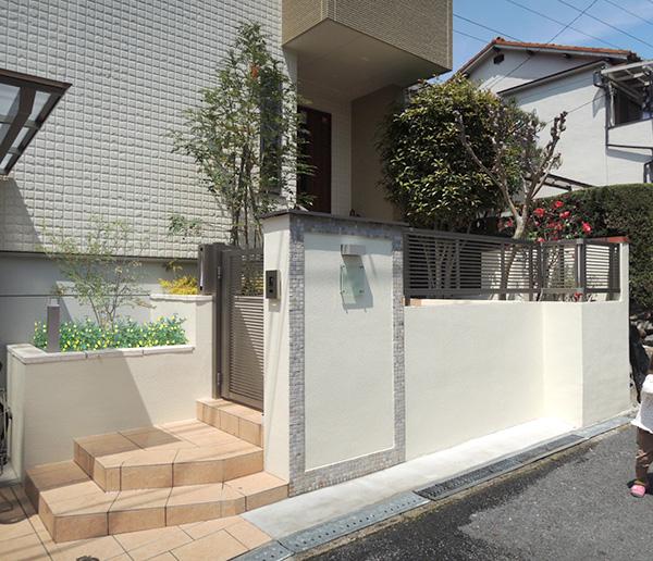 思い出あるアプローチを活かしてリフォーム – 大阪府豊中市 K様邸