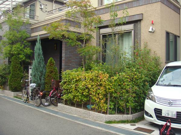 明るくオシャレなお庭にリフォーム – 大阪府豊中市 S様邸の施工前