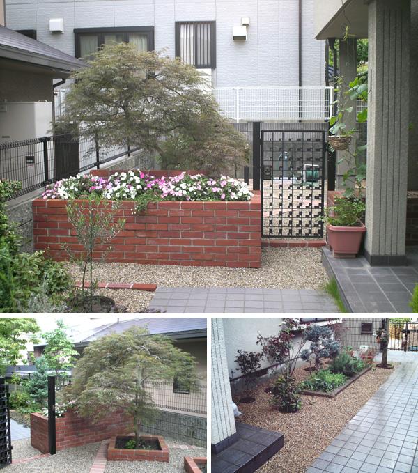 愛犬と仲良く暮らす庭にリフォーム~豊中市 T様邸
