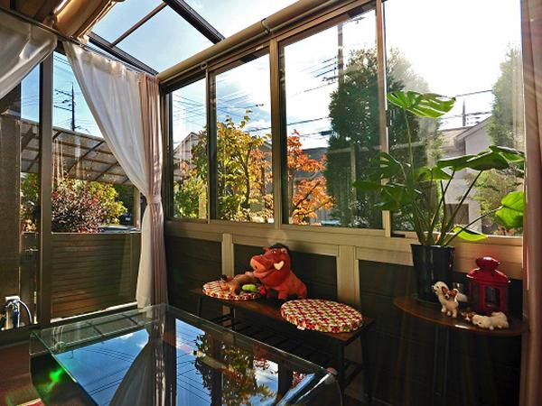 趣味を楽しむ空間、ガーデンルームのハピーナ – 豊中市 H様邸