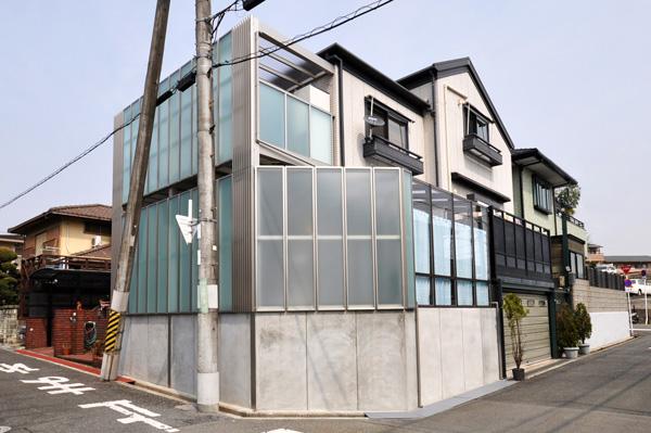 光と風を感じるプライベートスペースがある庭 – 大阪府豊中市 N様邸