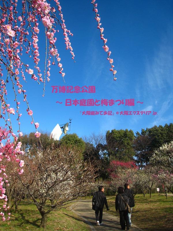 万博記念公園 ~日本庭園と梅まつり編