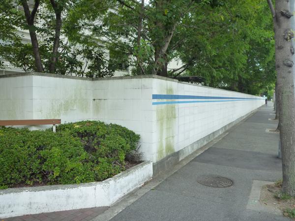 施工前:老朽化していたブロック塀