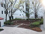 【植栽工事:植栽整理】伝統を感じさせる格式高い外観・明るく安全な構内へ – 兵庫県尼崎市 百合学院中・高等学校の詳細はこちら