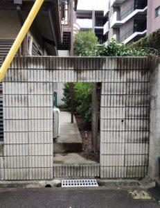 大阪エクステリア 株式会社 樽井造園 お庭リフォーム 扉やり替え フラッシュ扉