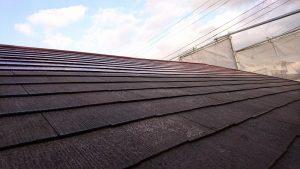 大阪エクステリア 株式会社 樽井造園 外壁塗装工事 屋根下塗り
