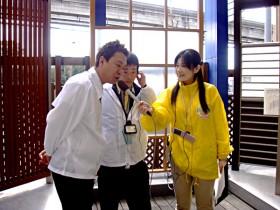 レポーター:福富早苗さんが来てくれたました♪