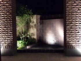 滝(壁泉)の夜景