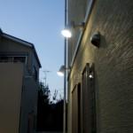 お庭を明るく照明2