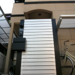アルミ形材を利用したオリジナル機能門柱