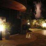 夜の景色を浮かび上がらす照明たち