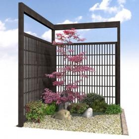 和風植栽イメージ
