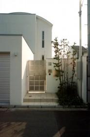 オリジナルのステンレス門扉