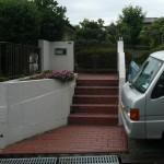 階段だった施工前