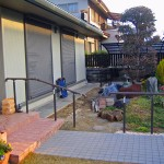 施工前:広い庭空間を有効的に使いたい