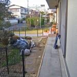 施工前:和風の庭でした