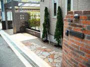 大阪エクステリア:お客様の声 「光を取り込んだプライベート空間縲恂L中市 N様邸」