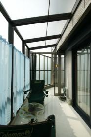 ココマガーデンルームタイプで風を感じるアウトドアリビング