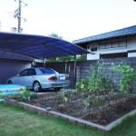 家庭菜園スペースを作りお子様と楽しむ