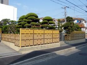 竹垣の高さを増すことでプライバシー確保