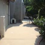 アフター:真砂土舗装でスッキリとした空間に