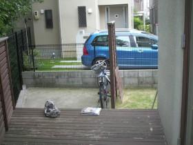 施工前:既存フェンスでは敷地を有効利用されていません