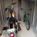 イナバ バイク保管庫