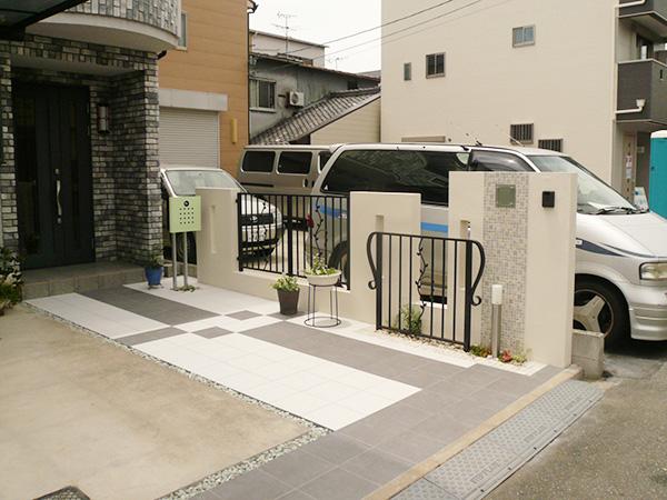 お施主様と作り上げた新たなエクステリア&ガーデン – 大阪府東大阪市 L様邸