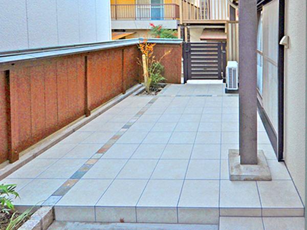 お手入れしやすいお庭空間に – 大阪府茨木市 O様邸