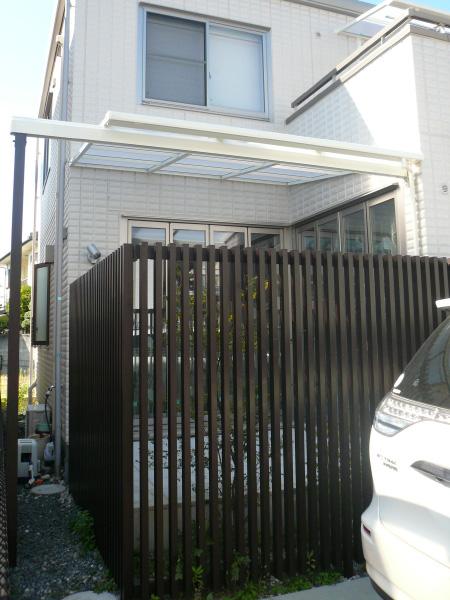少しの工夫で現状との違和感がなくなり、お庭もスッキリ – 大阪府泉佐野市 H様邸
