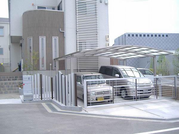 目隠しや門柱のデザインにひと工夫 – 大阪府泉佐野市 I様邸