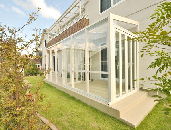 ココマⅡ ガーデンルームとオープンテラスで快適な生活 – 兵庫県川西市 K様邸