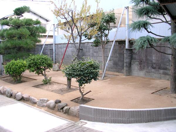 スッキリするお庭 – 大阪府松原市 Y様邸