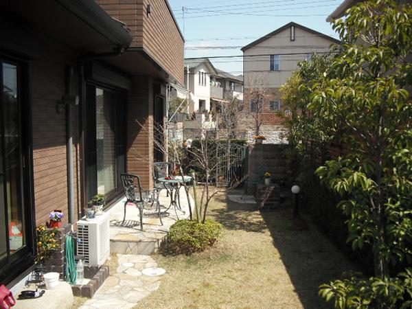 自然と触れ合う贅沢な空間に – 大阪府箕面市 I様邸の施工前