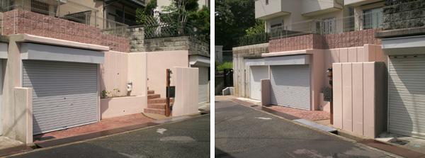 暖かな色に包まれた小道と家庭菜園のある庭 – 大阪府箕面市 N様邸