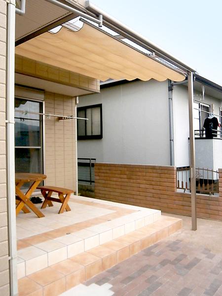 メンテナンスフリーな憩いの庭 – 兵庫県西宮市 B様邸
