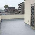 施工前:殺風景な屋上スペース